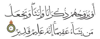 Al-Shura 42, 50